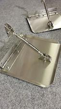 Trimmklappen Edelstahl  mit Edelstahlklavierband ca.29,0 cm breit