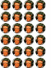 24 X UMPA LUMPA BIRTHDAY RICE PAPER CAKE TOPPERS