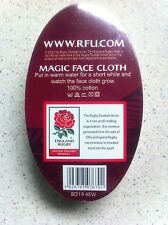 England rugby union magic face cloth licensed product brand new white red rose