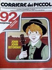 Corriere dei Piccoli 27 1979 - Marzolino Tarantola - Braccio di Ferro -John John