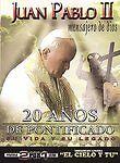 JUAN PABLO II MENSAJERO DE DIOS 20 ANOS DE PONTIFICADO DVD NEW Factory Sealed!