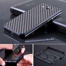 De Lujo Metal Aluminio Fibra Carbono Funda Para Samsung Galaxy S 3 III i9300