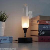 European Vintage Style Glass+Metal Diameter 12cm Height 32cm Creative Table Lamp