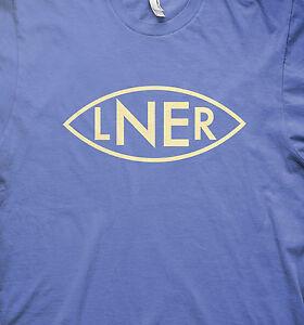 LNER steam train model railways BR train t shirt