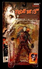 McFarlane Movie Maniacs Super Bloody Jason Action Figure Friday the 13th 1998