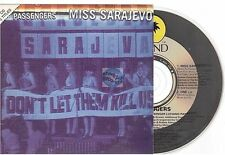 U2 / Passengers Miss Sarajevo CD SINGLE france french card sleeve
