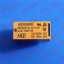 5PCS RELAY MULTICOMP/HUIGANG/HKE DIP-8 HRS2H-S-DC12V DC12 12VDC 12V