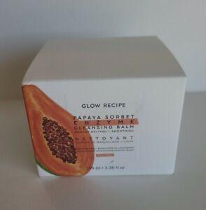 Glow Recipe Papaya Sorbet Enzyme Cleansing Balm Full SZ 3.38 oz Makeup Melting