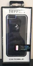 Ferrari Leather Hard Case for iPhone 6 / 6S - New