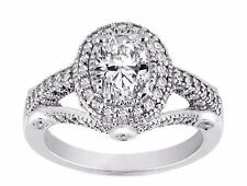 1.98 Carat Oval Diamond Legacy Design Engagement Ring D IF GIA graded