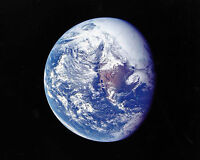 Planet Earth Outer View from Apollo 16 Solar System 8 x 10 Photo Photograph