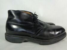 Mason Men's Steel Toe Ankle Boots Leather Chukka Safety Work 60's Vintage 8 EE
