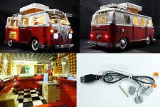 LEGO KIT LED  10220 PULMINO WOLKSWAGEN - SET LUCI USB -  NUOVO !
