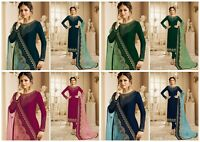 Salwar Kameez Indian Pakistani Suit ethnic Party Dress Designer Shalwar Suit KB