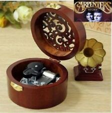 Circle  Carving wooden ♫  Close to you @ Carpenters   ♫ MUSIC BOX