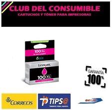 LEXMARK 100 MAGENTA CARTUCHO DE TINTA ORIGINAL 14N0901E