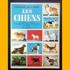 L'encyclopédie par le timbre LES CHIENS 1959