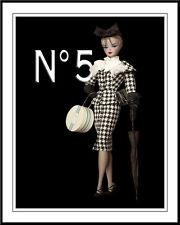 Chanel Barbie #1 Pop Art Canvas 16 x 20    #2570