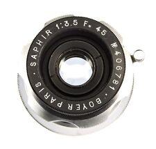 Boyer 45mm f3.5 Saphir Leica SM  #406781
