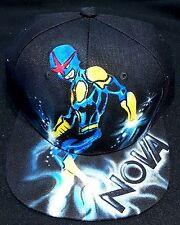 Marvel Nova Custom Airbrush Trucker Hat!superhero snapback personalized comic