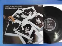 LOU REED  WALK ON THE WILD SIDE rca German Lp EX