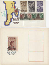 Polish Settlements in Italy, 2nd Corp Local, Fischer 4, Anders, 1946, Barletta*