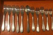 12 Pieces KNORK Stainless Mixed Flatware Set Forks Spoons Knives Knife