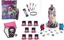 46pc Monster High Birthday Friendship Bracelets, Invites, Backdrop, Table Topper
