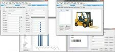 Heavy Equipment Construction Machinery Tracking Software CD, Customizable Fields