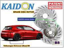 "Volkswagen Scirocco brake disc rotor KAIDON (Rear) type ""BS"" / ""RS"" spec"