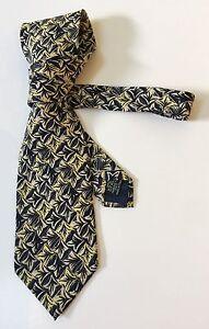 Vintage Luxury Mens Tie Emanuel UNGARO Paris Silk Made In Italy