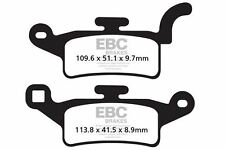 FIT MBK  YW 125 Z X-Over 10 EBC FRONT ORGANIC BRAKE PADS