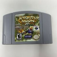 Harvest Moon 64 Nintendo 64 N64 Reproduction Game Cartridge Tested US Seller!
