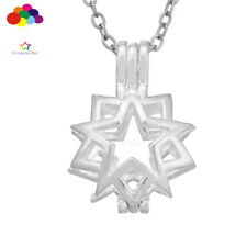 Newest Aroma Diffuser Star Necklace Lockets Perfume Essential Oil Aromatherapy