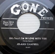 JO-ANN CAMPBELL Rock & Roll GONE 45 Wait A Minute b/w I'm In Love With You H103