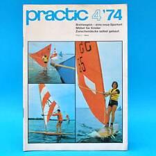 DDR practic 4/1974 Brettsegeln Kindermöbel Buchrestauration Zwischendecke W