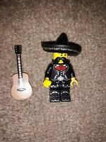 Lego minifigure mariachi player  series collectable