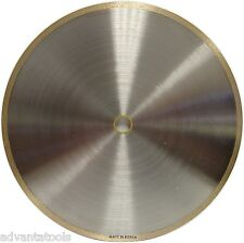 "8"" x .032"" Supreme Sintered Continuous Rim Diamond Lapidary Blade - 5/8""-1/2"""