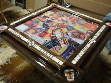 Liquour Collage Amazing Domino Table by Domino Tables by Art with your name