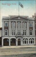 Oneonta NY Municipal Bldg c1910 Postcard EXC COND