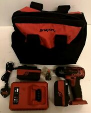 "Snap On CTEU8810A 18V 3/8"" Impact Gun With 2 x Batteries + Charger"