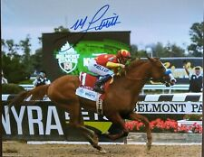 Mike Smith autograph photo Justify 8x10 Belmont Stakes Champion