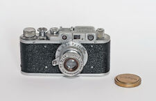 Russian Replica CANON RANGEFINDER CAMERA With 50mm Lens & Case   Free Shipping!