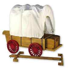 "Little House Covered Wagon,Sleigh & Trunk Fits Two 18 "" inch American Girl Dolls"