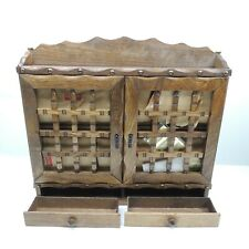 HOLMAR RARE VINTAGE Hanging Spice Rack Apothecary Made in Japan Antique NEW