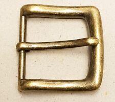 Metal Belt Buckles - 38 -40mm - Antique Brass Distressed Finish