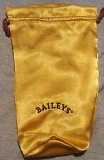 Baileys Irish Cream Bag with a drawstring...Gold..NEW