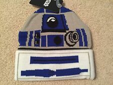 R2-D2 STAR WARS Return Of The JEDI movie Men's New OSFM Beanie costume HAT Cap