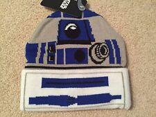 R2-D2 STAR WARS Return Of The JEDI movie Men's New OSFM Beanie costume HAT Cap