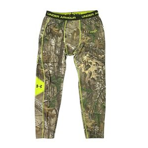 Under Armour Camo Scent Control ColdGear Realtree Compression Hunting Pants 3XL
